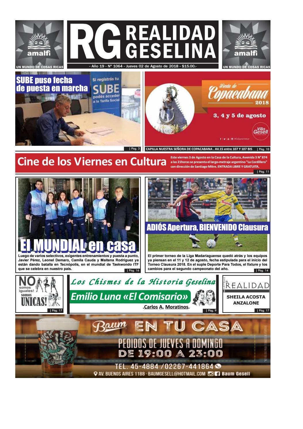 Geselina 1064 Realidad Issuu Semananrio By Semanario MVSpLqzUG