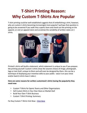 b6f703ef544bb T-Shirt Printing Reason  Why Custom T-Shirts Are Popular by Kustom ...