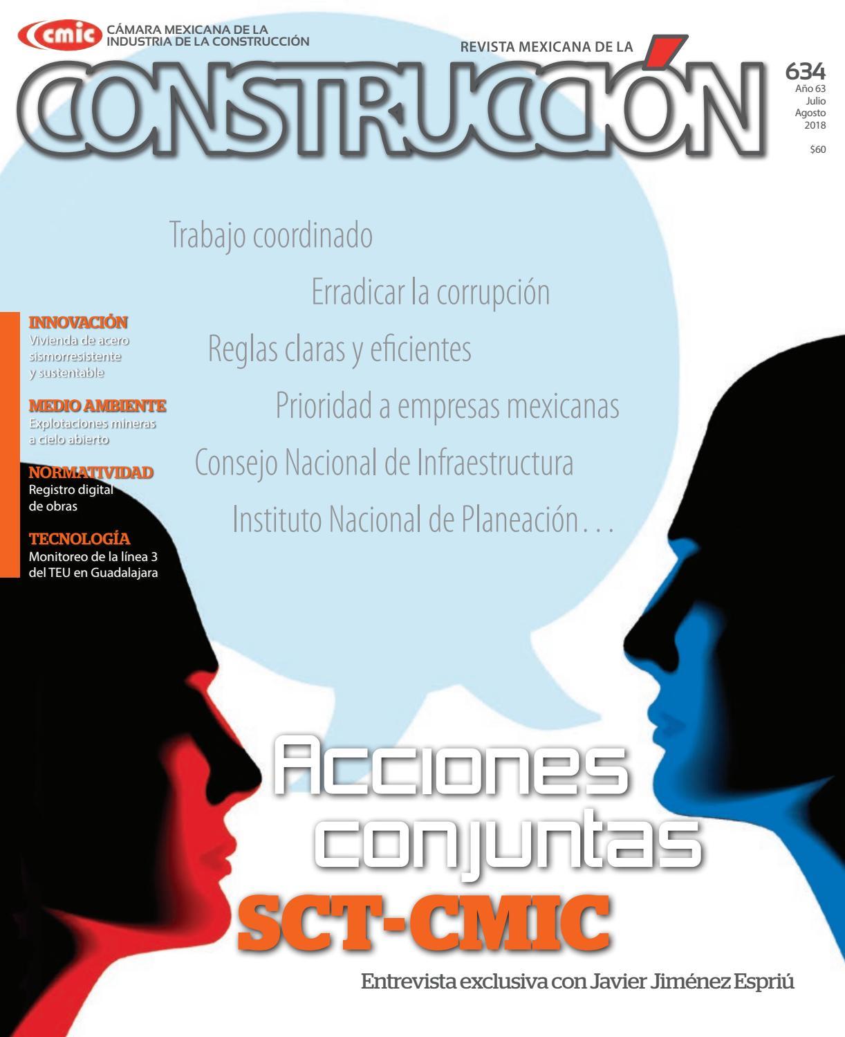 Revista Mexicana de la Construcción RMC 634 Julio-Agosto 2018 by ...