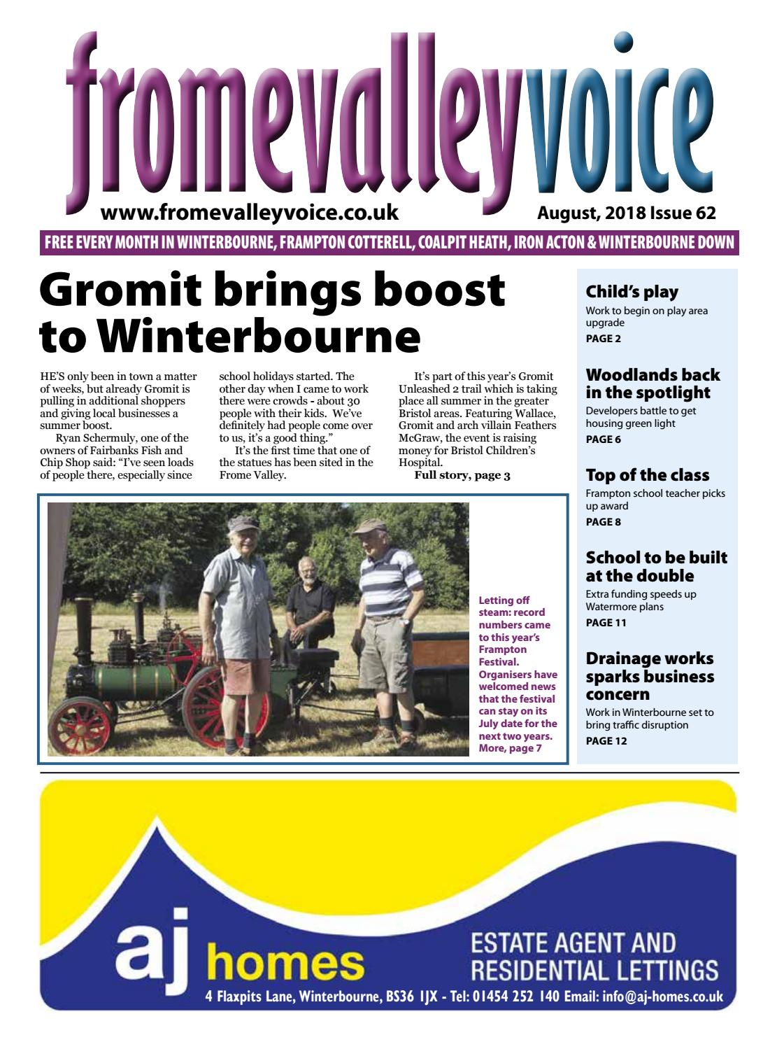 d3a65db7c Frome Valley Voice August 2018 by Fromevalleyvoice - issuu