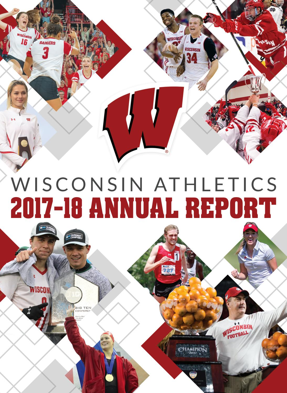 Thanksgiving Eve Sunset On Lake Wingra >> Wisconsin Athletics 2017 18 Annual Report By Wisconsin Badgers Issuu