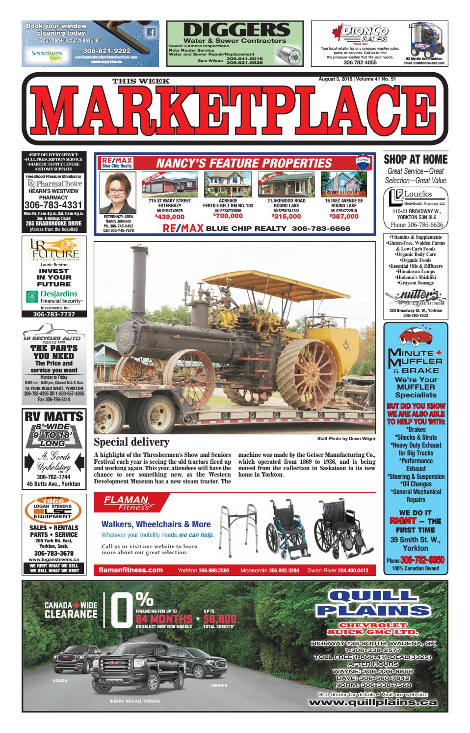 Marketplace 2018-08-03 by Yorkton This Week - issuu