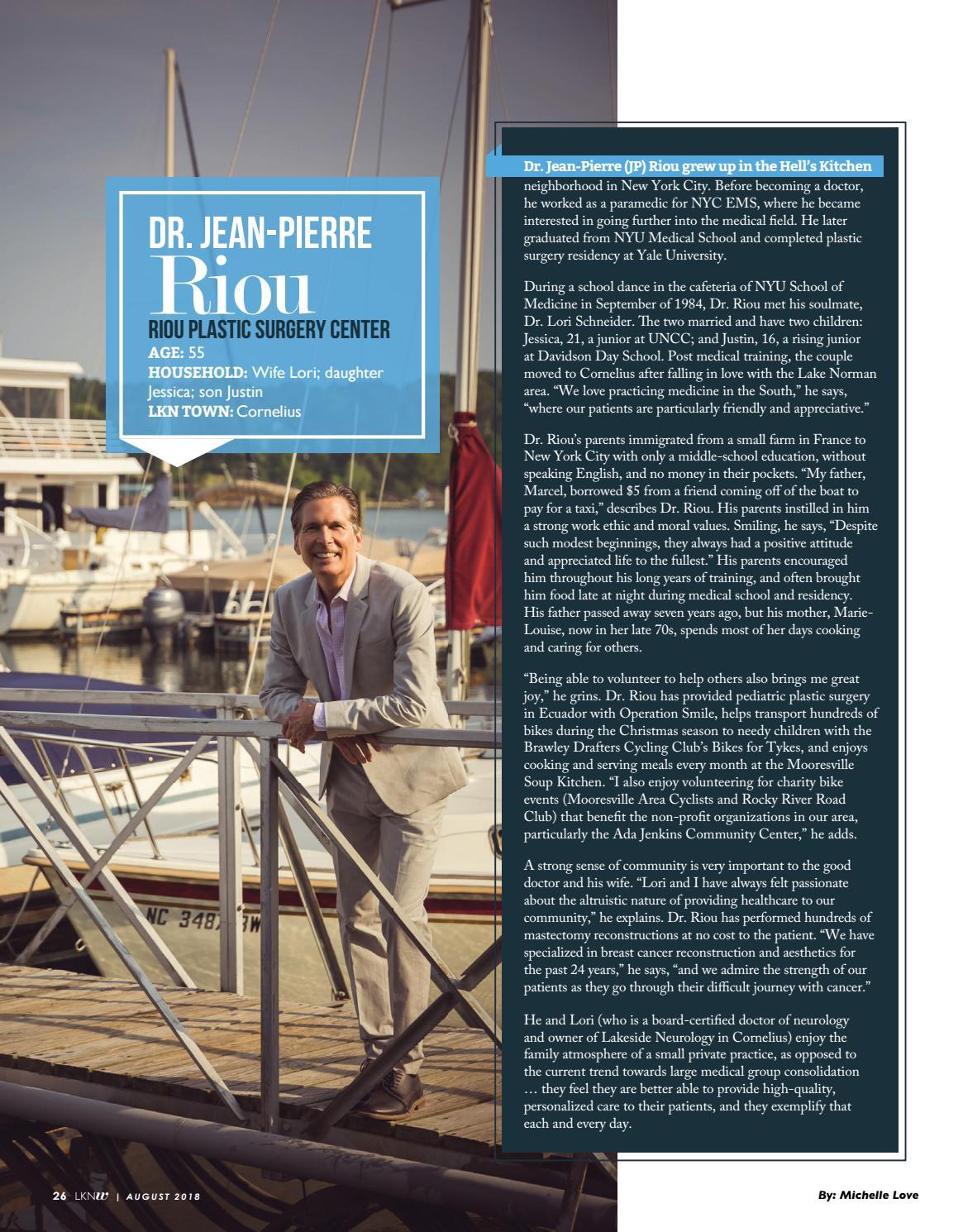 Lake Norman Woman Magazine - August 2018 by Lake Norman