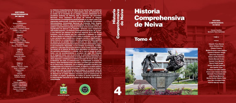 HISTORIA COMPREHENSIVA DE NEIVA TOMO IV by Academia Huilense de Historia -  issuu 2efc1846c6d3b
