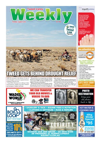 Tweed Valley Weekly, August 2, 2019 by Tweed Valley Weekly