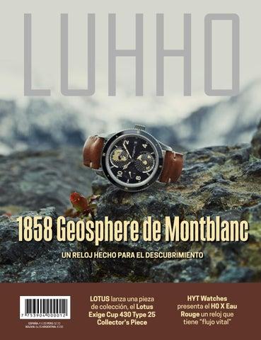 8fb514a052b8 1858 Geosphere de Montblanc UN RELOJ HECHO PARA EL DESCUBRIMIENTO