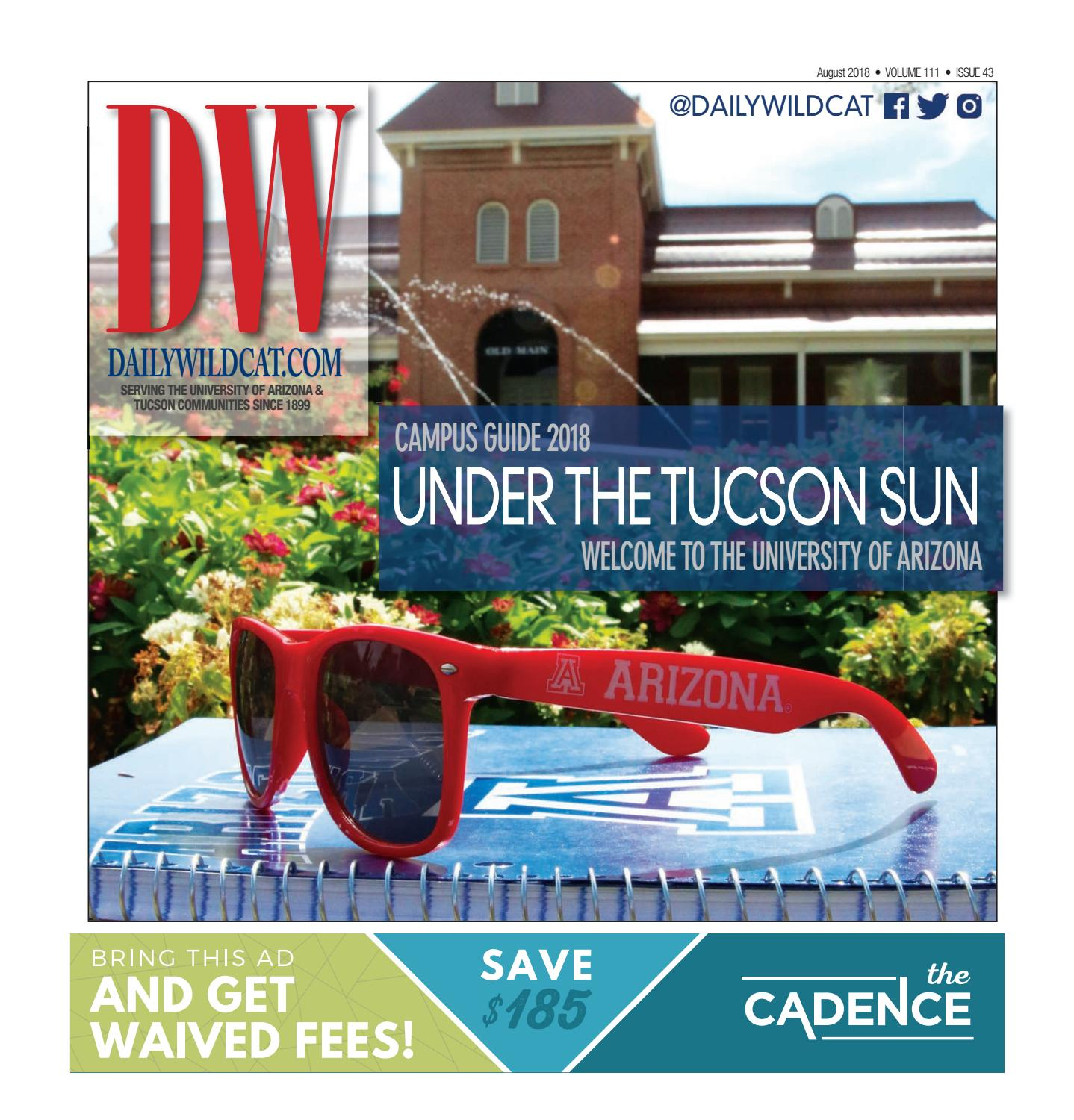Campus Guide 2018 by Arizona Daily Wildcat - issuu