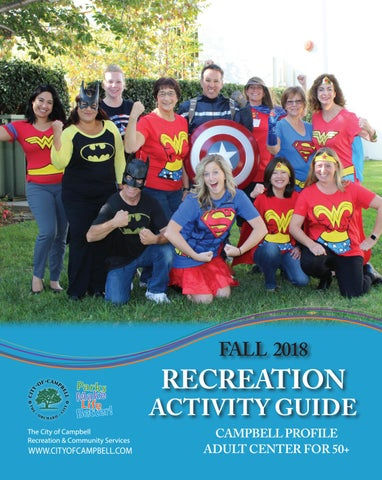 Fall 2018 Recreation Activity Guide by City of Campbell - issuu cc6bf3582