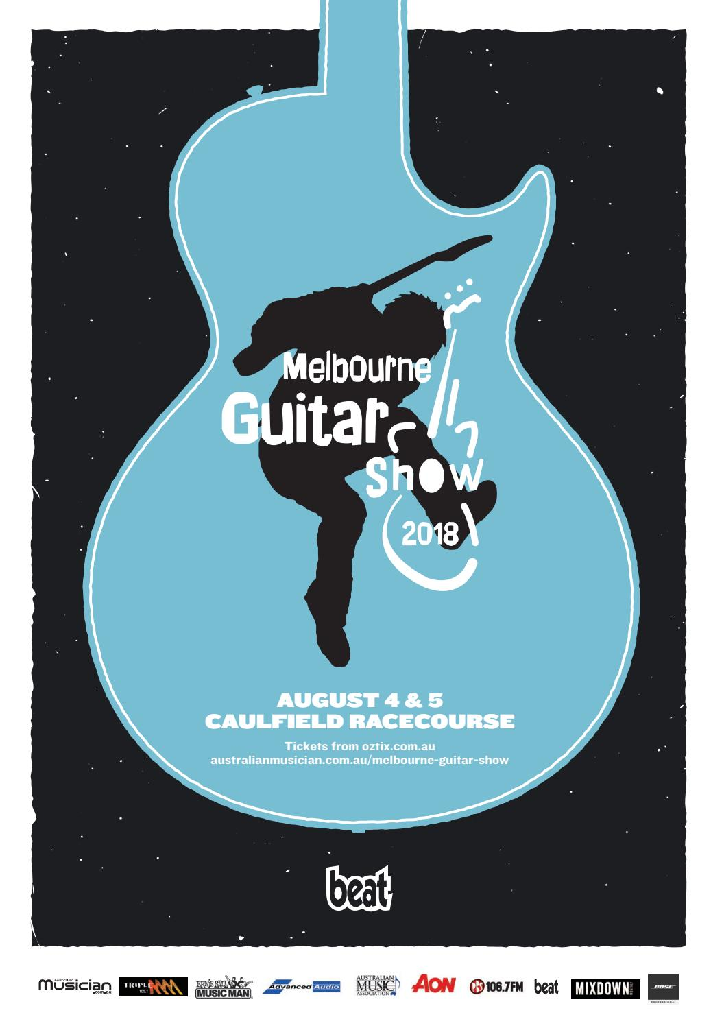 Beat\'s Guide to the Melbourne Guitar Show 2018 by Furst Media - issuu