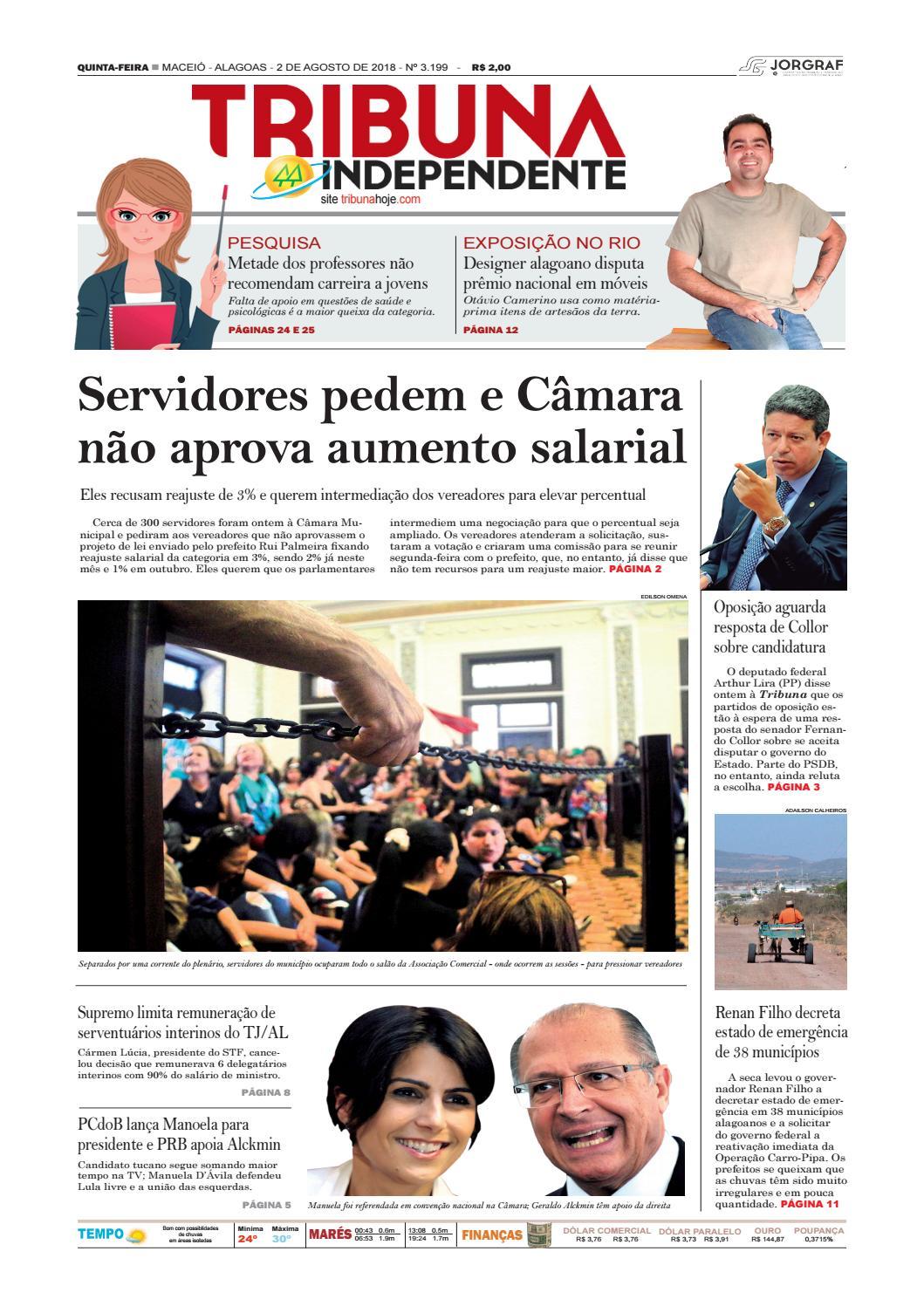255cb51ce Edição número 3199 - 2 de agosto de 2018 by Tribuna Hoje - issuu