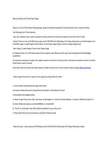 Earn Money Online by smehta94946 - issuu