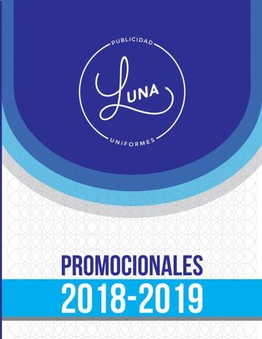 Catálogo 2018 Promocionales by admin luna publicidad - issuu 21efceda875