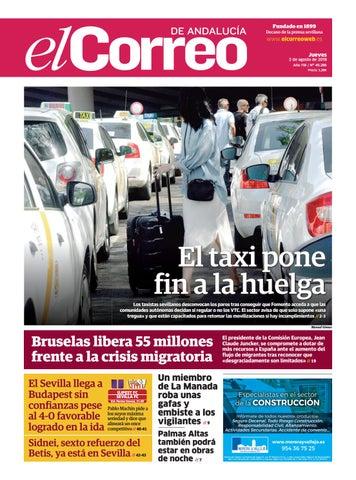 02.08.2018 El Correo de Andalucía by EL CORREO DE ANDALUCÍA S.L. - issuu 7d19be364f764