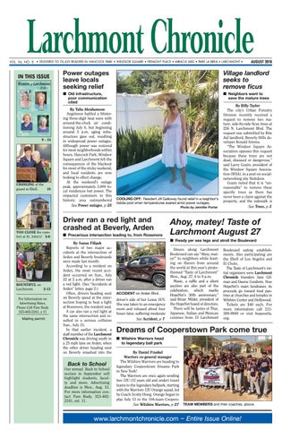 LC 08 2018 by Larchmont Chronicle - issuu bee9e7ad3