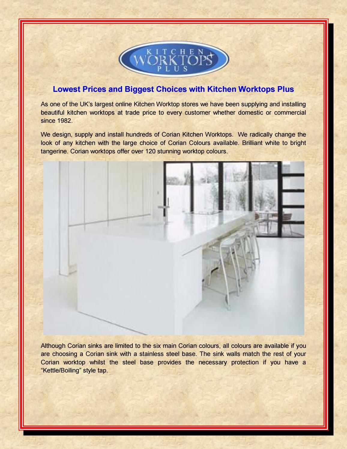 Price Of Corian Kitchen Worktops - Kitchen Appliances Tips