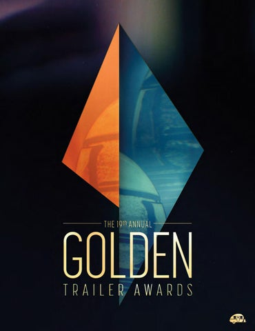 19th Annual Golden Trailer Awards Program Book by Trailer Central