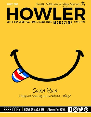 Howler Magazine Costa Rica August 2018 By Howler