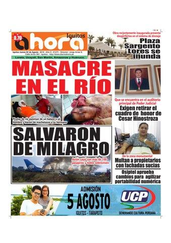 ad794cd3dda Iquitos 02 de Agosto del 2018 by Jonatan Arias - issuu