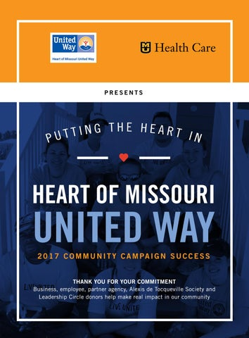 Heart of Missouri United Way by Business Times Company - issuu