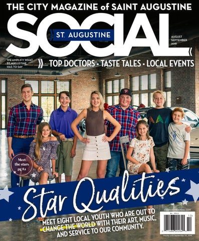 46467230f4 St. Augustine Social - Aug Sep 2018 by Occasions Media Group - issuu