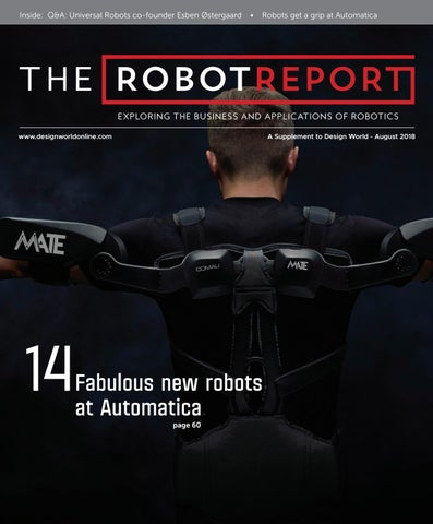 The Robot Report - Design World - August 2018 by WTWH Media LLC - issuu