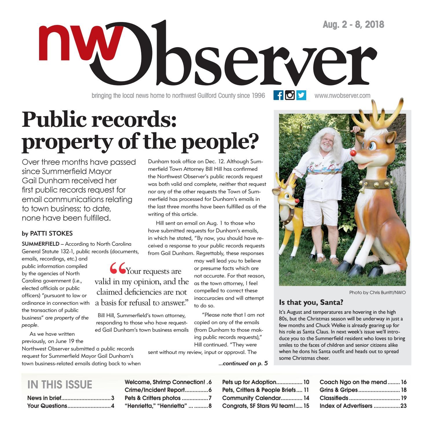 Northwest Observer
