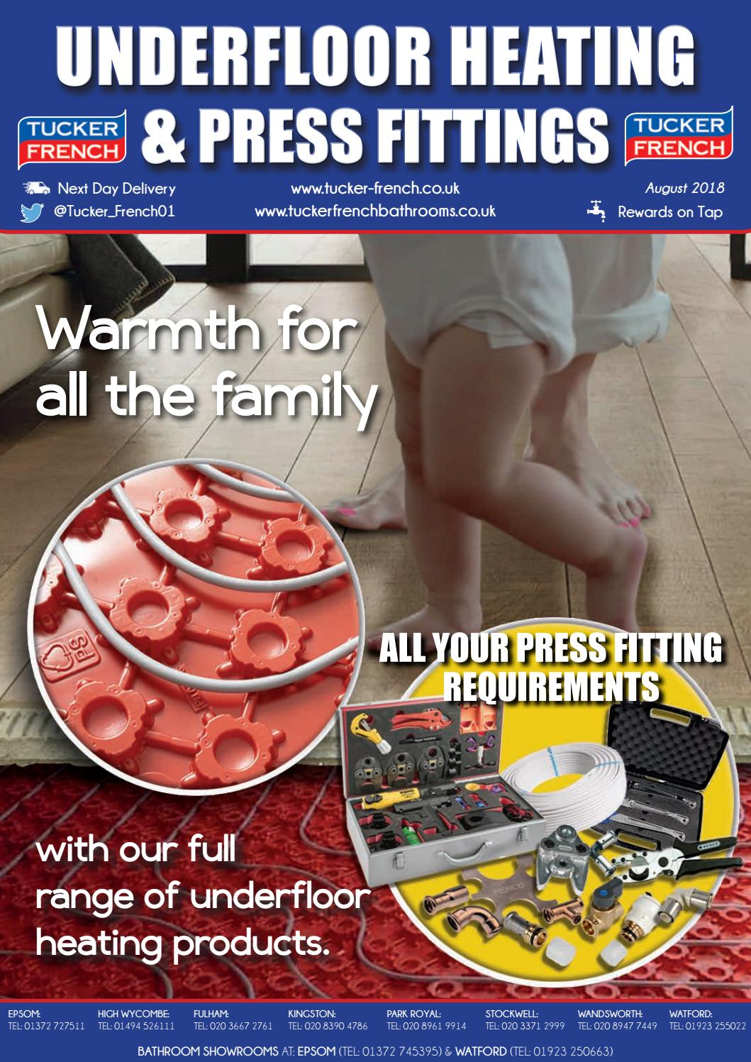 Underfloor Heating and Press Fittings 2018 by tucker-french