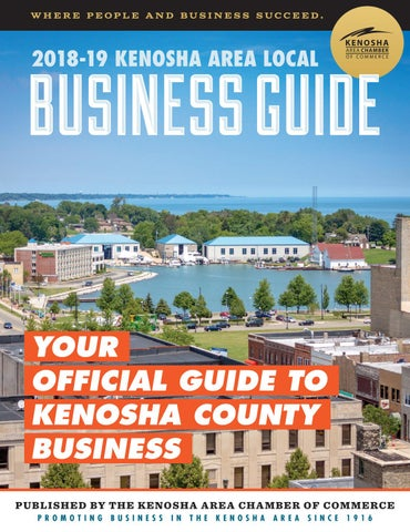 2018-19 Local Business Guide by Kenosha Area Chamber of