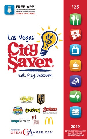 fd9f9be36 2019 Las Vegas, NV City Saver Coupon Book by gaschoolstore - issuu