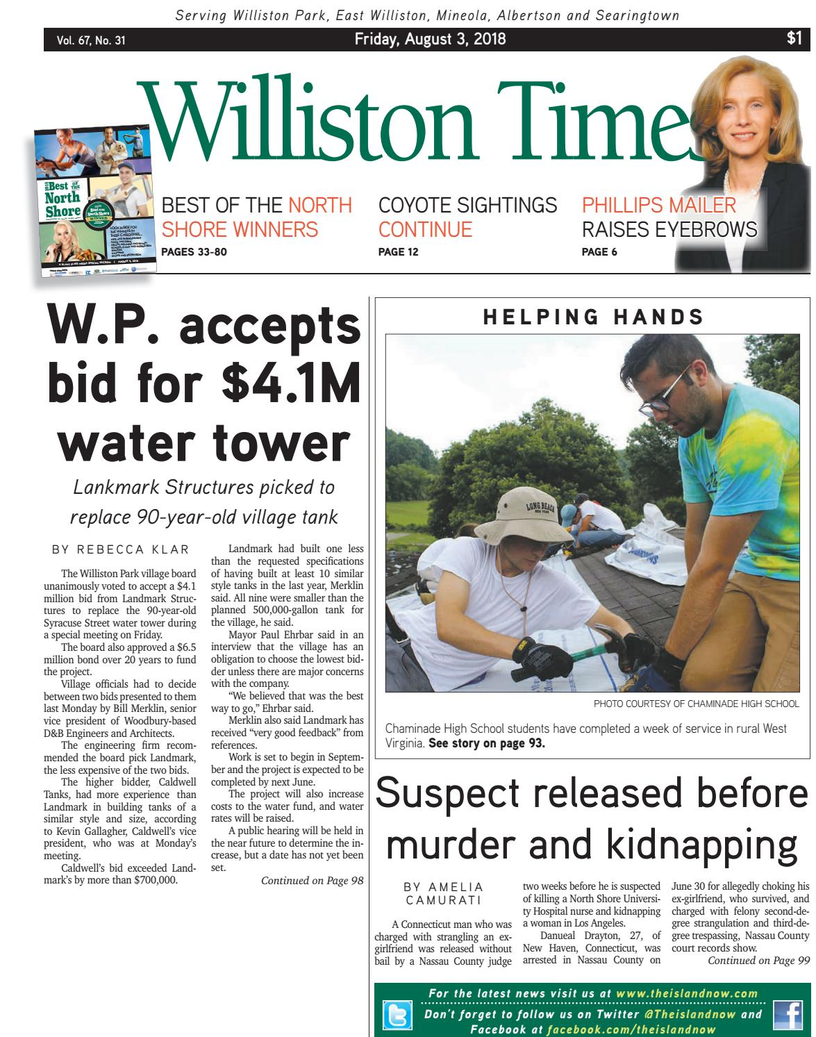 5159363f2205 Williston times 08.03.18 by The Island Now - issuu