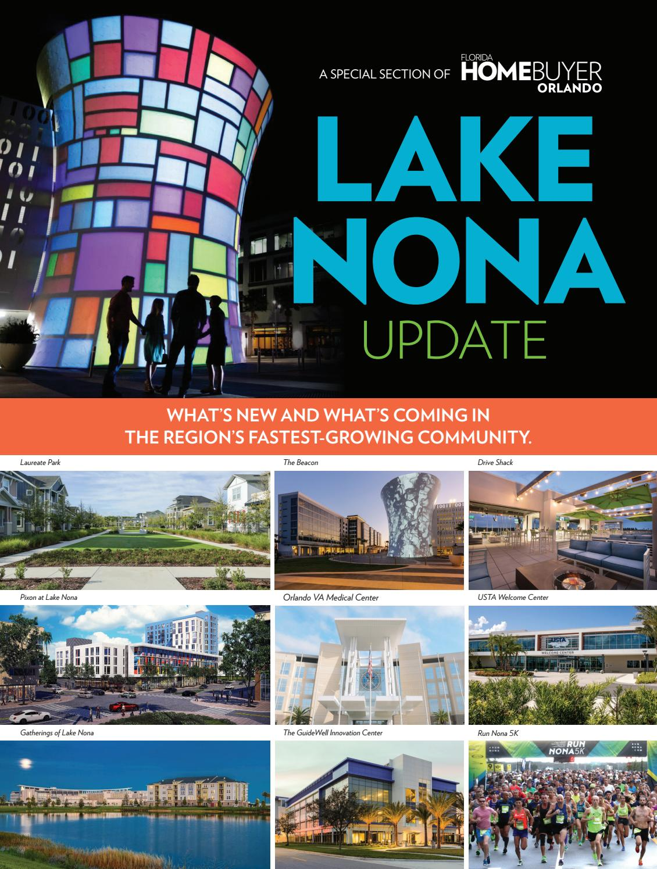 Lake Nona Update 2018 By Winter Park Publishing Company