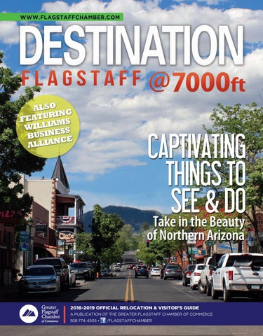 9818ae6f1d9 Destination Flagstaff Chamber Guide by Town Square Publications