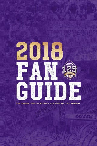 d3ae2580c 2018 LSU Football Fan Guide by LSU Athletics - issuu