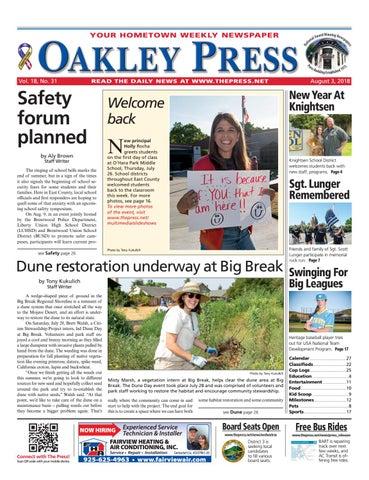 Oakley Press 08 03 18 by Brentwood Press & Publishing - issuu