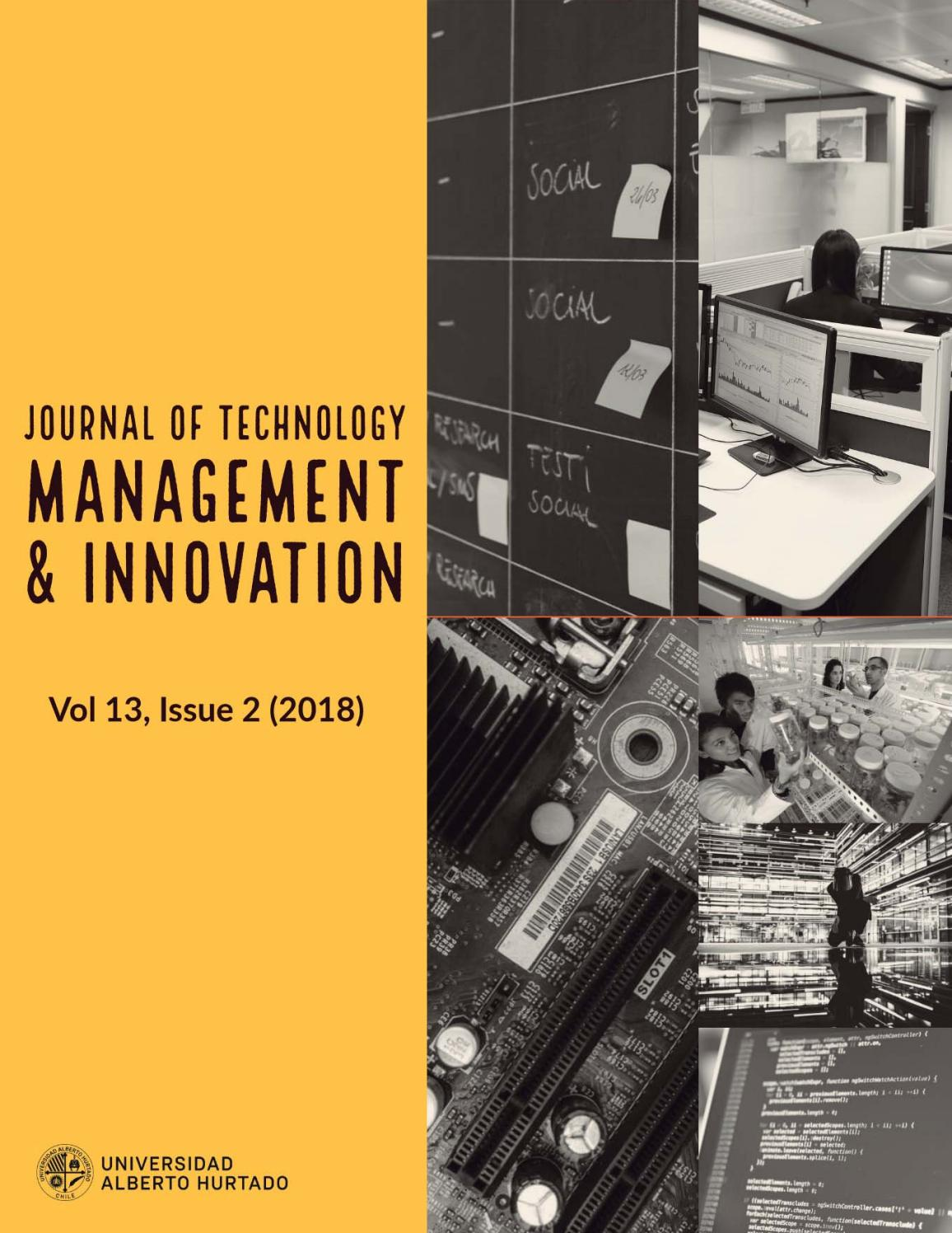 Journal of Technology Management & Innovation Volume 13 - Issue 2 (2018) by  Chimera Innova Group - issuu