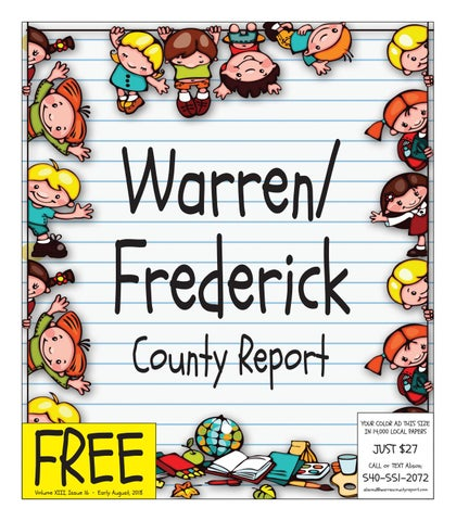 c64736d8cac Early August 2018 Warren/Frederick County Report by Warren/Frederick ...