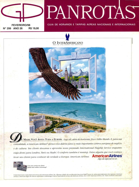 87ca2b0a4d Guia PANROTAS - Edição 299 - Fevereiro 1998 by PANROTAS Editora - issuu