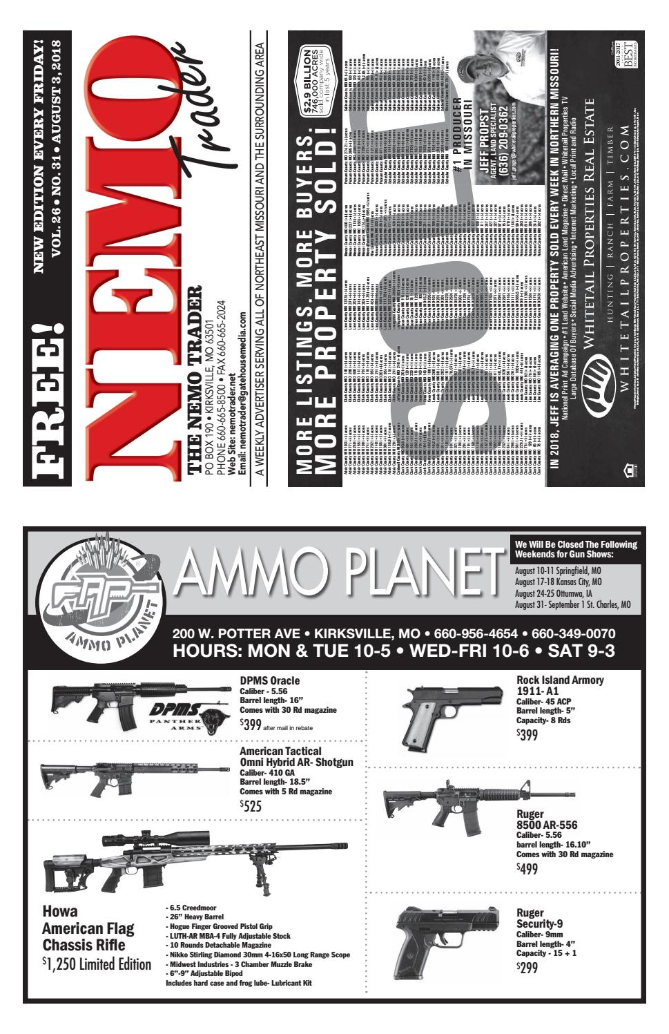 NEMO Trader Aug  3, 2018 by NEMO Trader - issuu