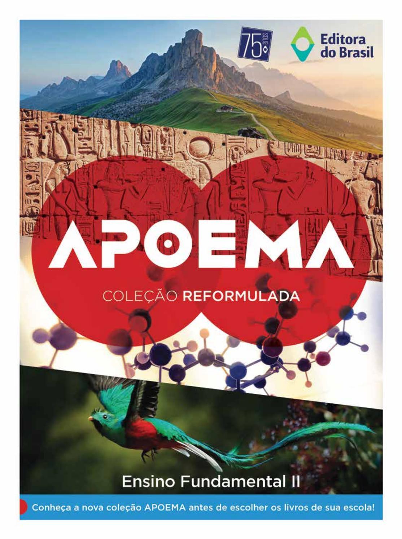 Catálogo coleção Apoema 2018 19 by Editora do Brasil - issuu 3d5e0f46a22b9