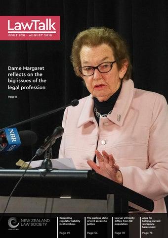 42a442e2cc91 LawTalk 920 by NZ Law Society - issuu