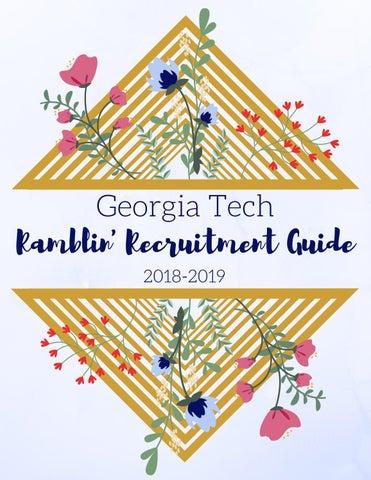 Georgia Tech Collegiate Panhellenic Council Ramblin Recruitment