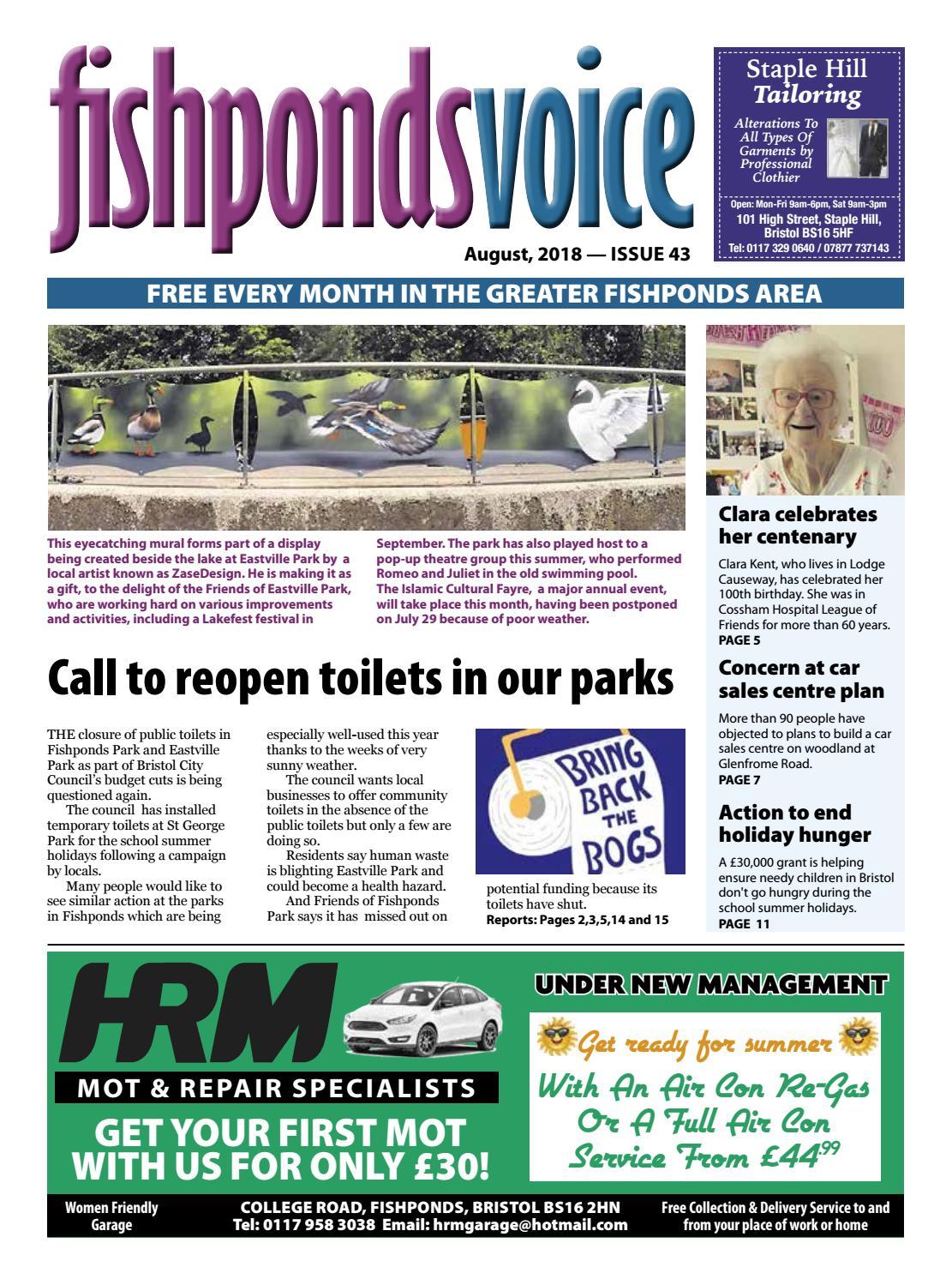 Eastville park toilets