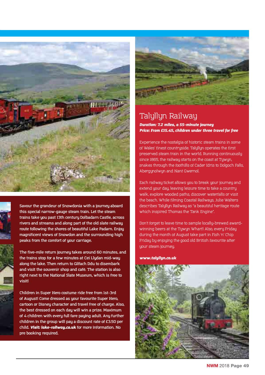 North Wales Magazine – August 2018 by North Wales Magazine