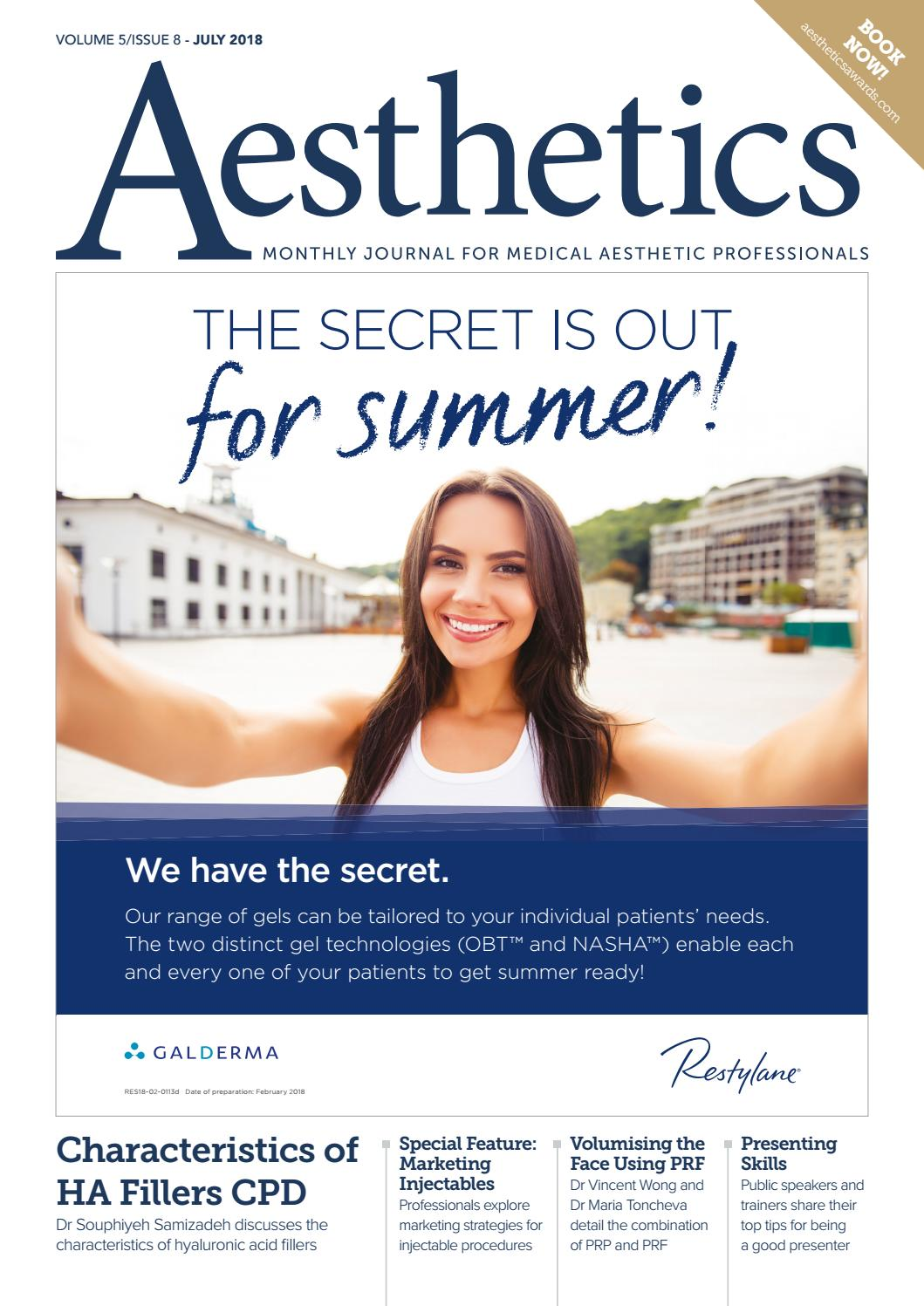 c22b722397 INJECTABLES by Aesthetics Journal - issuu