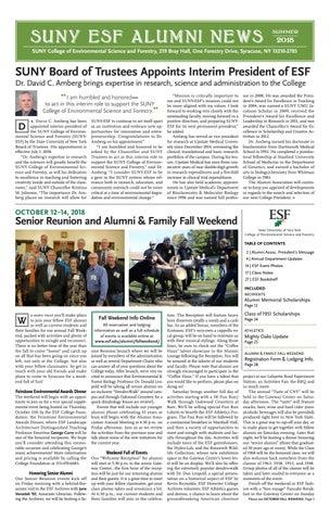 4edb244edb0 ESF Alumni News - Summer 2018 by SUNY-ESF - issuu