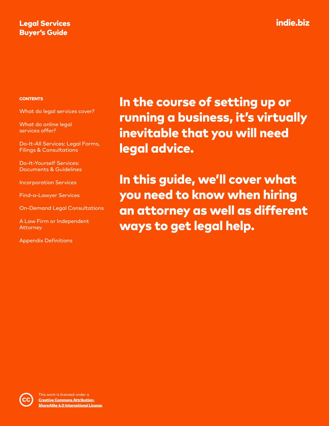 Legal Services Buyers Guide By Indie6 Issuu Learn More At Do It Yourself Help Com
