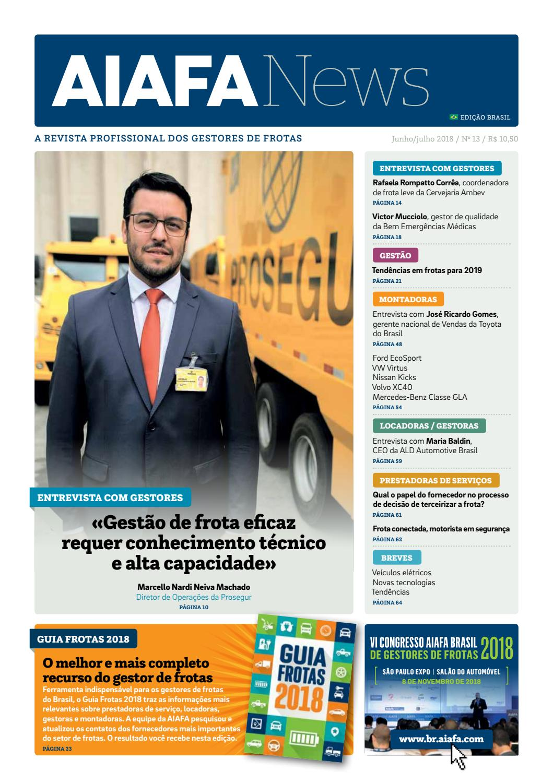 AIAFANews 13   Brasil by AIAFA - Asociación Internacional de  Administradores de Flotas de Automóviles - issuu b7d21cc25d