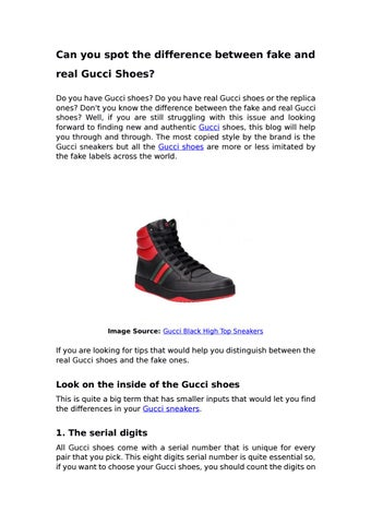 real Gucci Shoes? by Darveys - issuu