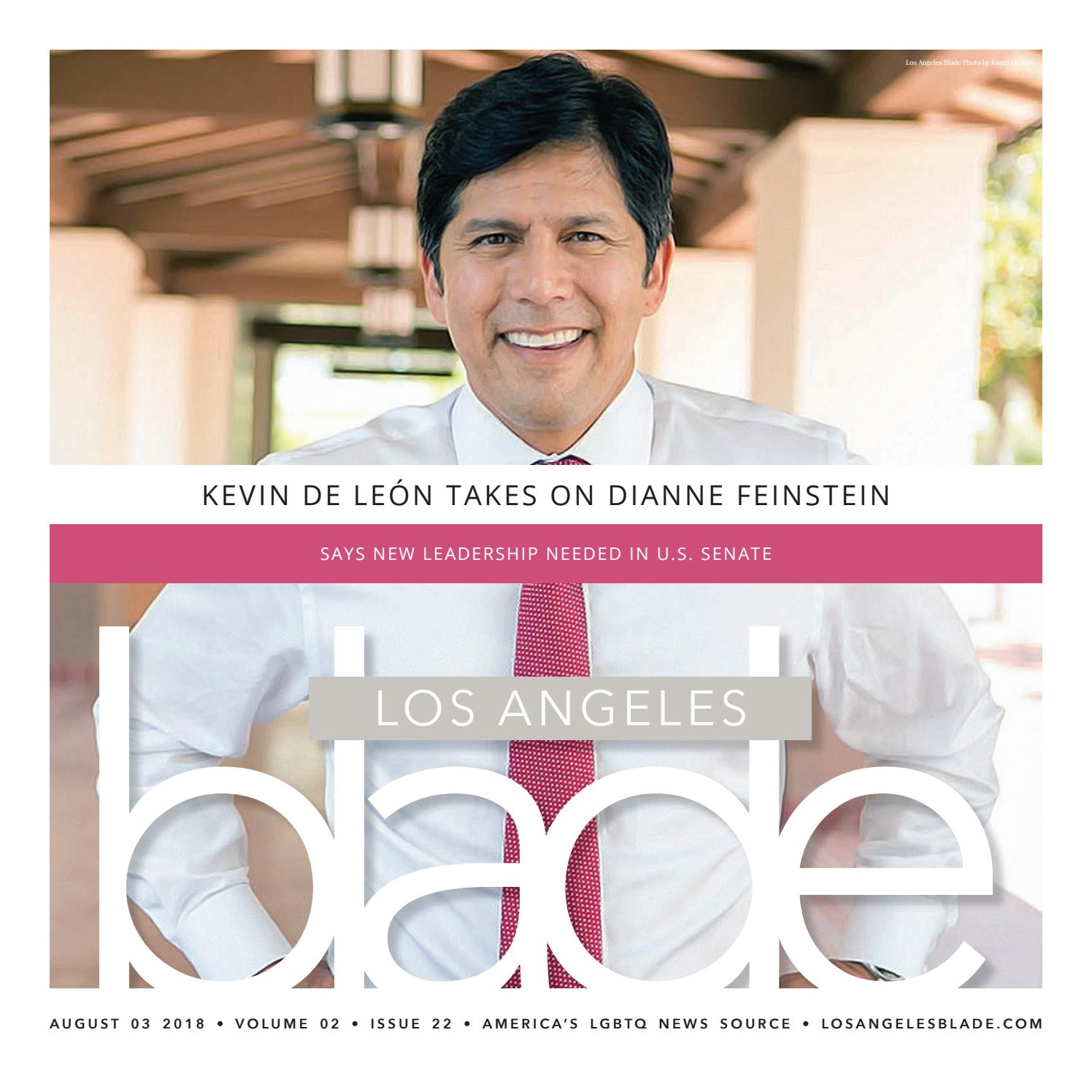 Losangelesblade com, Volume 2, Issue 22, August 3, 2018 by Los