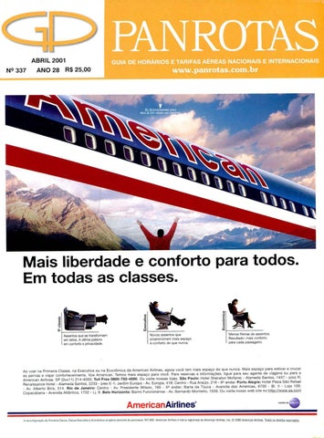 fea3fbad0fa7b Guia Panrotas - Edição 337 - Abril 2001 by PANROTAS Editora - issuu